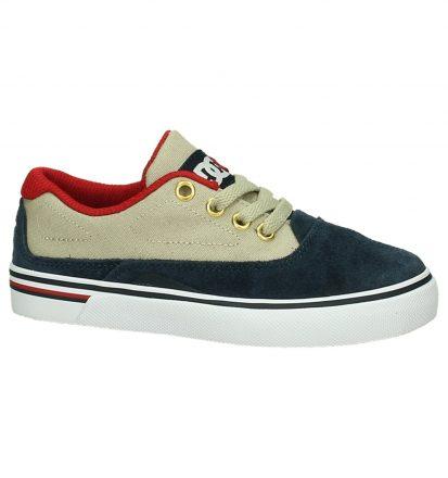 Blauw/Beige Skateschoen DC Shoes Sultan