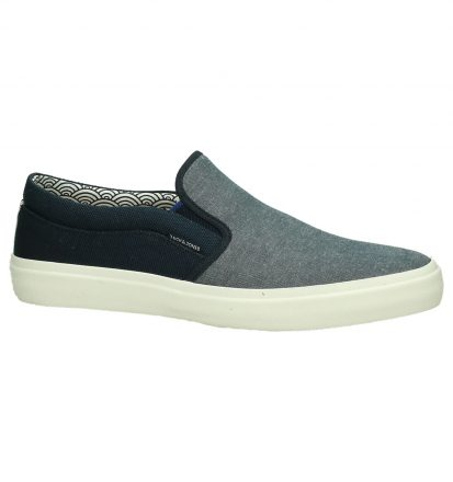 Slip-On Sneakers Blauw Jack & Jones Rush Textile Mix