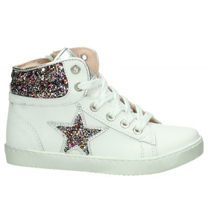 Witte Hoge Sneakers K3