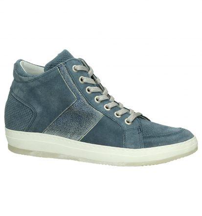 Sneakers Sleehak Khrio Blauw