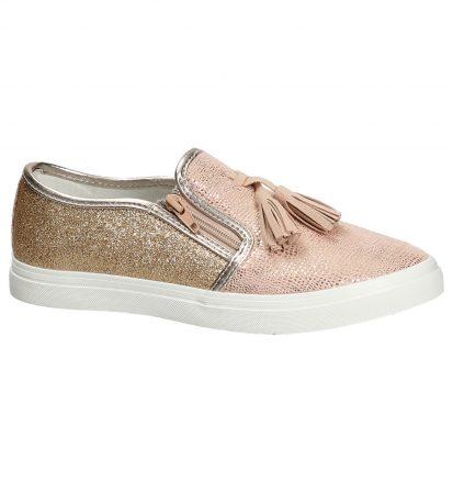 Kipling Bafi Roze Slip-On Sneakers