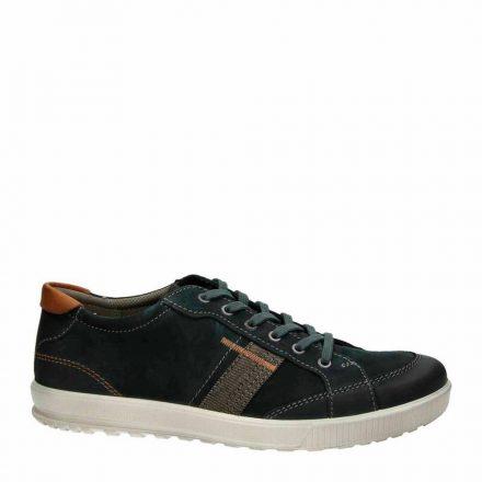 Ecco leren sneakers (zwart)