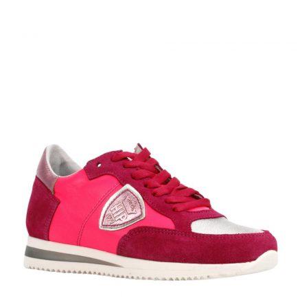 Hip suède sneakers meisjes (roze)