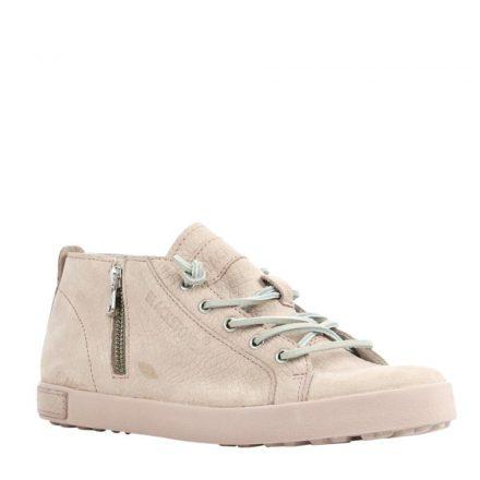 Blackstone leren sneakers (roze)