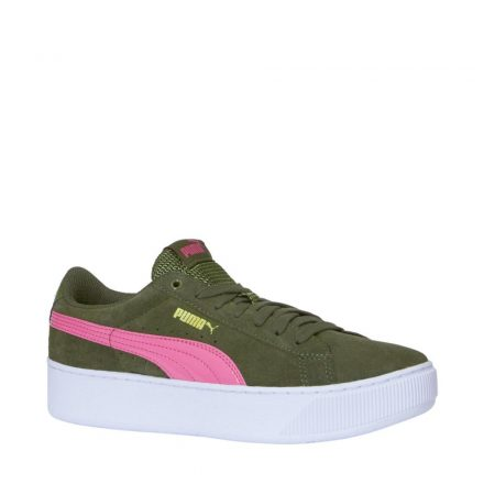 Puma Vikky Platform sneakers (groen)