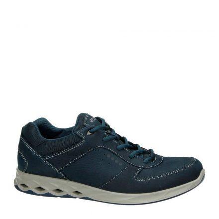 Ecco Wayfly nubuck sneakers (blauw)