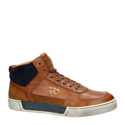 Pantofola d'Oro Frederico Uomo leren sneakers (bruin)