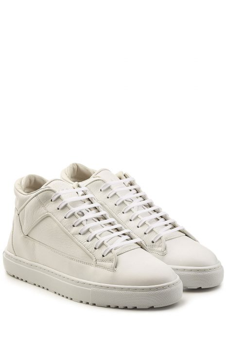 ETQ Leather Mid-Height Sneakers (wit)