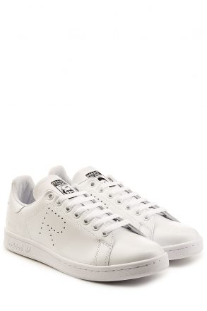 Adidas by Raf Simons Raf Simons x Adidas Stan Smith Leather Sneakers (wit)