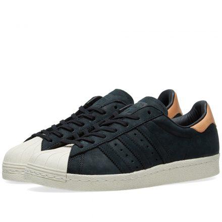Adidas Women's Superstar 80s W (Black)