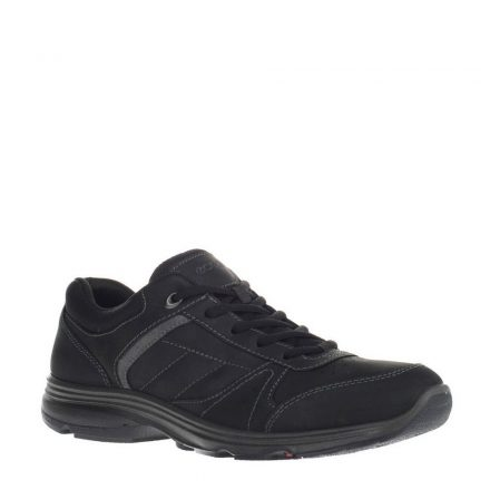 Ecco nubuck sneakers (zwart)
