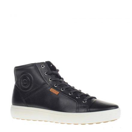 Ecco leren sneakers Soft 7 (zwart)