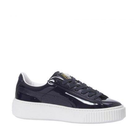 Puma Platform Patent sneakers (zwart)