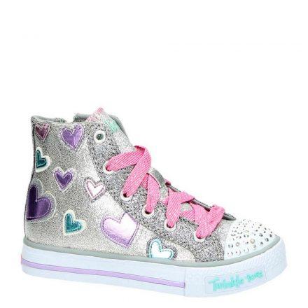 Skechers sneakers meisjes (zilver)