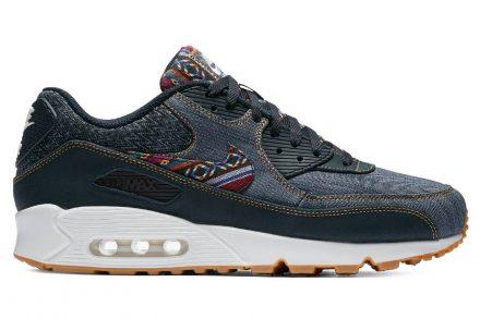 "Nike Air Max 90 Premium ""Afro Punk Pack"" blau"
