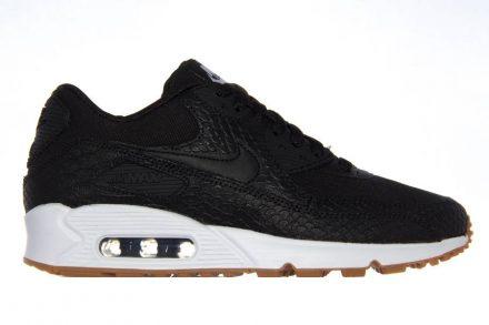 Nike WMNS Air Max 90 Premium Black / Black schwarz