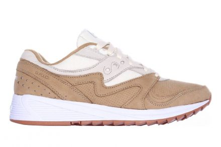 Saucony Grid SD 8000 Tan / Light Tan blau