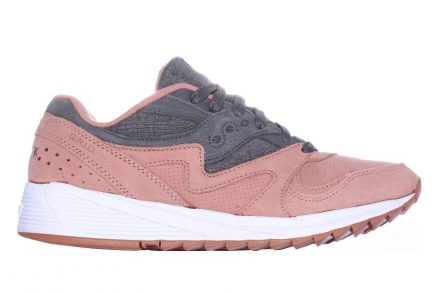Saucony Grid SD 8000 Salmon / Charcoal blau