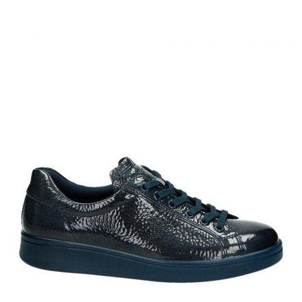 Ecco Soft 4 lakleren sneakers (grijs)