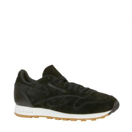 Reebok CL Leather SG sneakers (zwart)