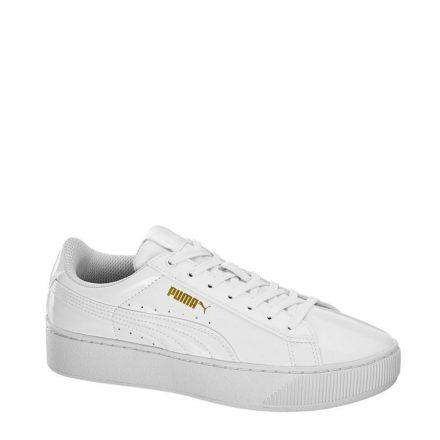 Puma Vikky platform sneakers (wit)