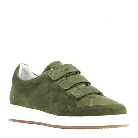 Nubikk Noah Straps leren sneakers (groen)