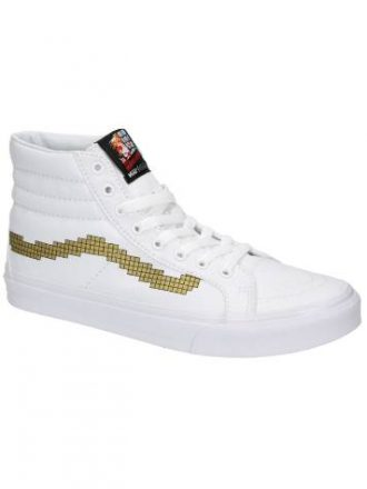 Vans Nintendo SK8-Hi Slim Console Gold Sneakers