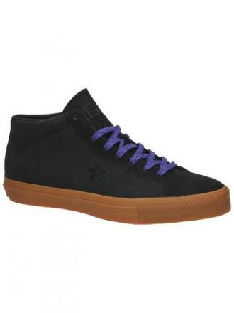 Converse One Star Pro Leather Mid Sneakers