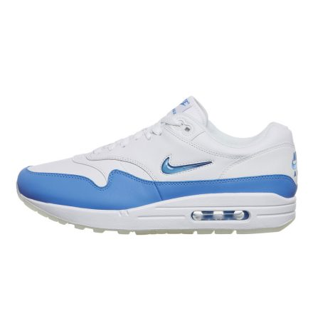 "Nike Air Max 1 Premium SC ""Jewel Swoosh"" (wit/blauw)"