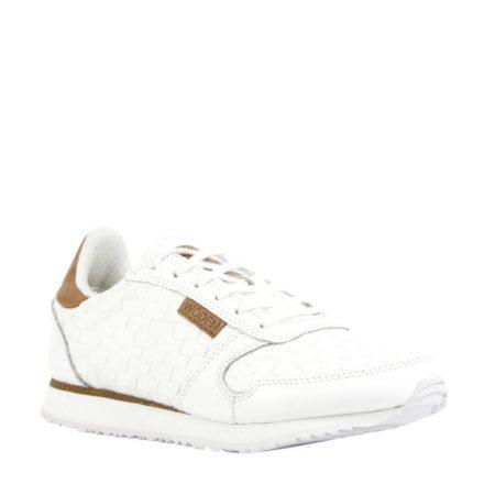 Woden Ydun leren sneakers (creme)