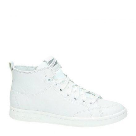 Skechers leren sneakers (wit)