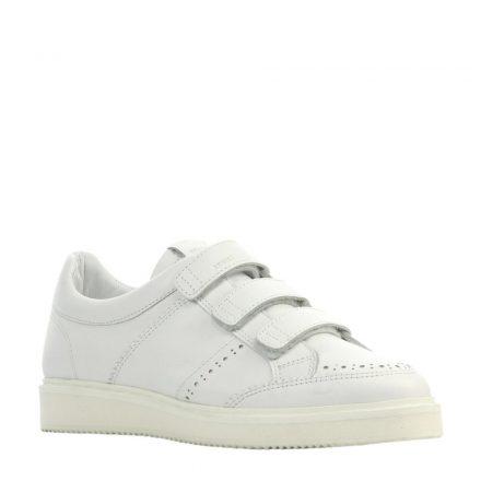 Nubikk Noah Straps leren sneakers (wit)