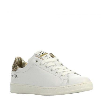Hip leren sneakers meisjes (wit)
