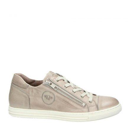 Aqa leren sneakers (bruin)