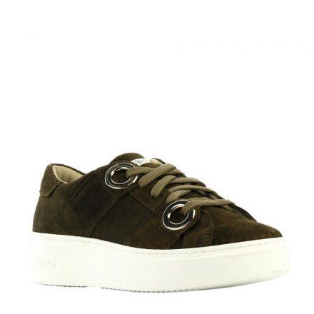 Liu Jo suède platform sneakers (groen)