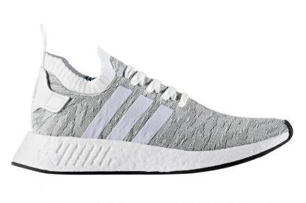 Adidas NMD_R2 PK FTWWHT/FTWWHT/CBLACK weiß