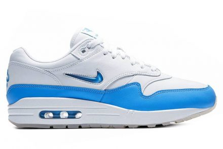 Nike Air Max 1 Premium SC White/University Blue blau