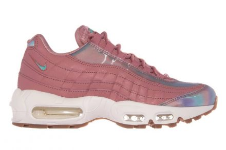 Nike Air Max 95 SE RED STARDUST/WASHED TEAL-SAIL rosa