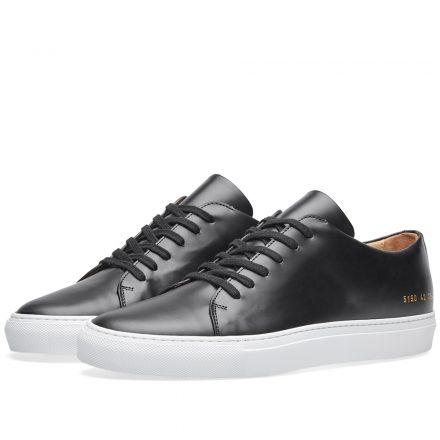 Common Projects Court Low (Black)