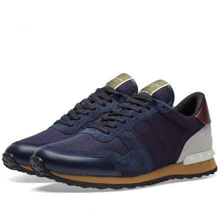 Valentino Rockrunner Sneaker (Blue)