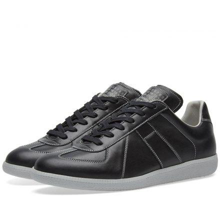 Maison Margiela 22 Replica Low Contrast Stitch Sneaker (Black)