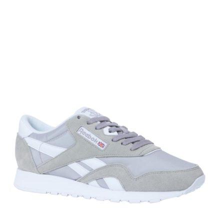 Reebok CL Nylon Tech mix sneakers (bruin)