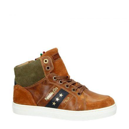 Pantofola d'Oro leren sneakers jongens (bruin)