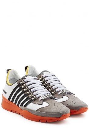 Dsquared2 Dsquared2 Leather Sneakers (multicolor)