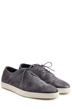 N.d.c. N.d.c. Suede Sneakers (blauw)