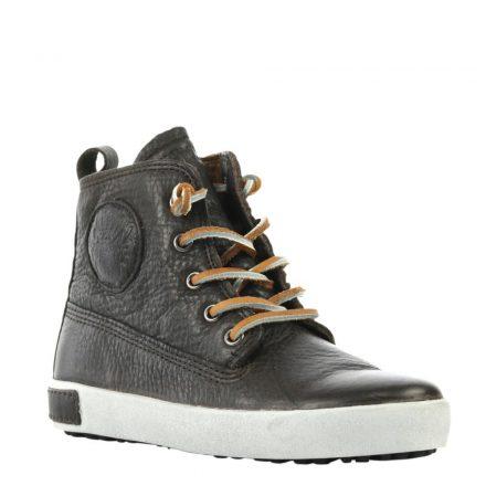 Blackstone leren sneakers jongens (bruin)