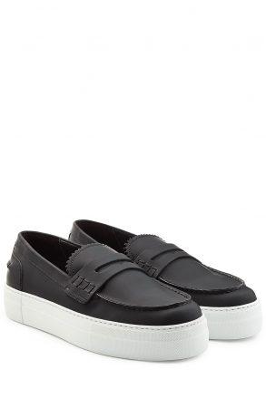 Dsquared2 Dsquared2 Platform Leather Loafers (zwart)