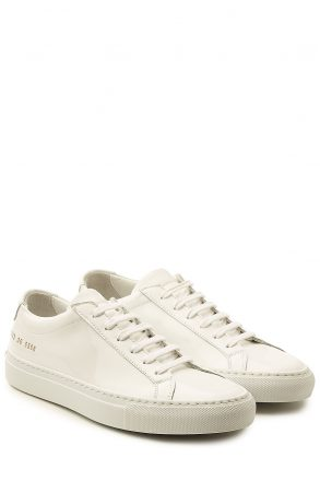 Common Projects Common Projects Patent Leather Sneakers (wit)