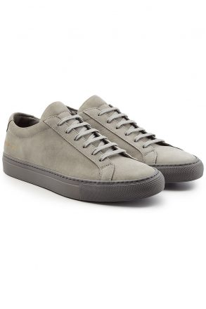 Common Projects Common Projects Suede Sneakers (grijs)