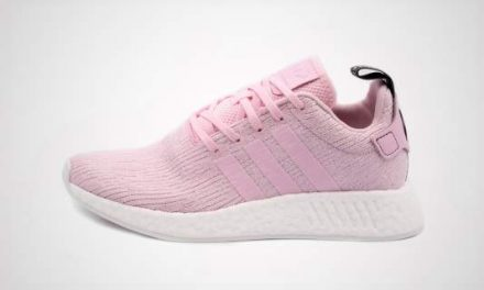 adidas NMD_R2 W (rosa/Wit) Sneaker